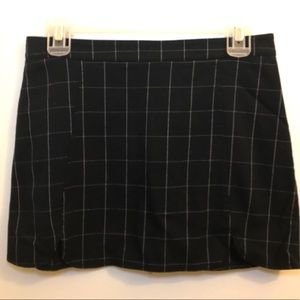 Brandy Melville Grid Pattern Skirt